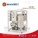 Populärer Zla Serie Doppelt-Stadien hohe Leistungsfähigkeits-Vakuumschmierölfilter, der für Isolierungs-Öl verwendete