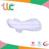 Serviette hygiénique négative d'ion de coton pour Madame garniture sanitaire