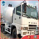 Carro de mezcla concreto de Japan_Original 2007year_Fuso 8m3_Rustless_Drum (6D24ENGINE)
