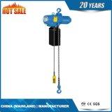 le meilleur élévateur 0.5t à chaînes électrique de vente avec la suspension de crochet