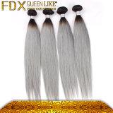 La maggior parte delle estensioni brasiliane dei capelli bianchi degli elementi al minuto popolari dei capelli umani