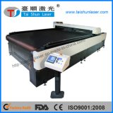 Bettdecke CO2 Laser-Gewebe-Ausschnitt-Maschine für Hauptgewebe
