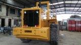 De 160kw-motor van het schatten-5ton-logboek 3 kubiek-Meter Gebruikte Rupsband 966e grijpt Lader vast