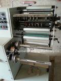 Het Etiket die van Flexo Machine met Twee Opnieuw opwindende Schachten 320 scheuren /420