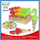 Mini caramella di plastica del giocattolo di natale dell'ombrello del giocattolo