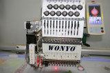 Wonyo 새로운 단 하나 맨 위 Sequin 판매를 위한 끈으로 묶는 밧줄 자수 기계에 의하여 전산화되는 자수 기계 좋은 가격 고품질