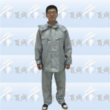 Polyester clair léger imperméable à l'eau adulte Rainsuit