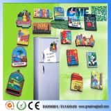 Acheter les aimants faits sur commande en gros bon marché drôles promotionnels de réfrigérateur de véhicule de photo