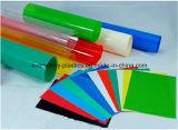 Lamiera sottile rigida nera colorata del PVC