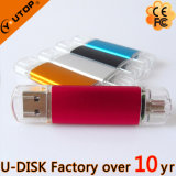 Hot Metal OTG mobile Dual USB mémoire Flash Disk ( YT- 1201-1203 )
