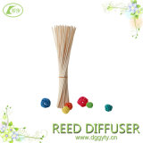 Rattan Stick Diffuser를 위한 Raffia Tied를 가진 크기 Customer Offer Natural Reed Stick