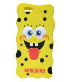 Het grappige Gele Geval van de Telefoon van het Silicone van Spongebob van de PUNT voor de Melkweg van Samsung A3 A5 A7 E5 E7 (xsr-024)