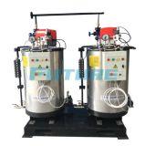 chaudière à vapeur allumée verticale de pétrole du tuyau d'eau 200kg/H (gaz) avec le prix modéré