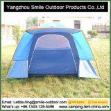 Tente campante extérieure faite sur commande de dôme de porte d'offre de famille