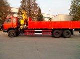 Grúa montada Cargotruck del auge del nudillo de XCMG 10t