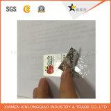 Haustier-Lücken-Kennsatz-Drucken anhaftender Anti-Fälschenc$anti-fälschung Hologramm-Aufkleber