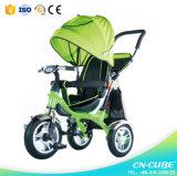 Triciclo do Pram do bebê do triciclo/carrinho de criança do bebê do brinquedo da bicicleta de três rodas/triciclo crianças do miúdo