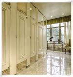 Toalete europeu do compartimento do estilo feito pelo painel de HPL