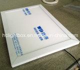 Frame branco do poster do frame da pressão do frame de retrato do diodo emissor de luz