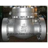 Clapet anti-retour d'oscillation d'extrémité de bride de Wcb d'acier de moulage de la norme ANSI 900lb/1500lb