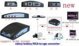 AV к конвертеру VGA (RCA/CVBS/S-video к VGA)