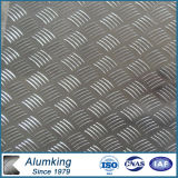Fünf Bar 3003 Checker Aluminum Plate für Anti-Skidding