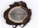 安いインドの方法人間の毛髪のハンサムな人のToupee