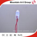 Cadena de la iluminación LED del centelleo con la lámpara del color rojo 5V