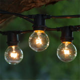 UL Listed 8m 25 Clear Bulb G40 Globe Outdoor Christmas Decoration Light LED Christmas