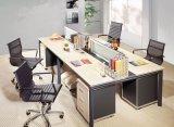 Верхнее рабочее место стеклянной перегородки офиса открытой местности сбывания деревянное (SZ-WST664)