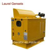 генератор 30kVA низкопробного топливного бака 50/60Hz тепловозный