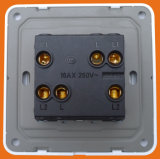 Style BRITÂNICO 10ax 2 Gang 2 Way Switch