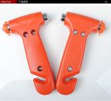 Martello di emergenza dello strumento di fuga del perforatore della finestra della tagliatrice della cintura di sicurezza