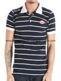 T-shirt en gros fait sur commande de polo d'hommes de mode chaude