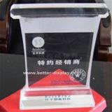 Kristal van de Trofee van de douane het Acryl