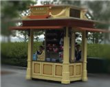 Kiosk Booth for Outdoor Different Sizes Available (LFDS0101)