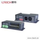 Регулятор дешифратора СИД RGB DMX 512 CV DMX Ltech Lt-830-8A 8A*3CH и водитель 3CH RGB DMX 512 СИД дешифратор