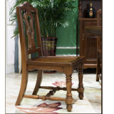 Cadeira de jantar de madeira do estilo americano para a mobília Home (AS851)