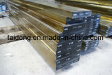 O molde quente da ferramenta do trabalho da qualidade 1.2581/H21/SKD5/3Cr2W8V de Eximious morre o aço liso