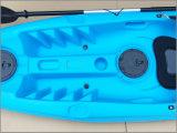 Un barco de pesca de la persona mini pequeños/canoa/kajak ligeros costa afuera portables
