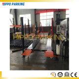 4 equipo hidráulico del estacionamiento del coche de poste del coche de los pilares de la elevación simple del estacionamiento cuatro