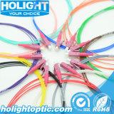 12의 색깔 광섬유 떠꺼머리 LC Om4 0.9mm
