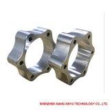 Elevada precisão que lustra as peças do alumínio do CNC