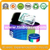 Geschenk-Zinn für die fördernde verpackende Blechdose, Metallzinn-Kasten