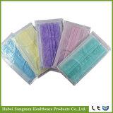 Maschera di protezione non tessuta a gettare con imballaggio specifico