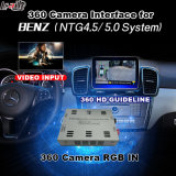 Ntg-5.0 Audio20 커맨드 시스템 Lvds RGB 신호 입력 던지기 스크린을%s 가진 벤즈를 위한 뒷 전망 & 360 Panorama 공용영역