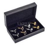 VAGULA 새로운 보석 전시 상자 동점 클립 동점 Pin 상자 커프스 단추 사례 26