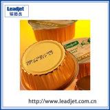 Inkjet contínuo preto/amarelo/impressora vermelha/verde do pigmento para o empacotamento da droga