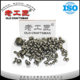炭鉱のツールYk05 Yk25 Yg8cのための炭化タングステンの摩耗ボタン
