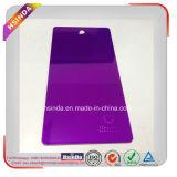 高い光沢のある明るいキャンデーの紫色の透過粉のコーティング